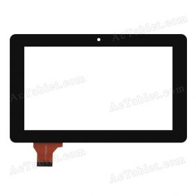 Digitizer Glass Touch Screen for Ainol Novo 7 Rainbow Tablet PC Replacement