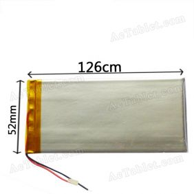 Replacement 2600mah Battery for 7 Inch Android Tablet PC