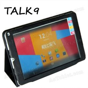 Leather Case Cover for Cube TALK9 U39GT 3G MT8389T Quad Core Tablet PC 9 Inch