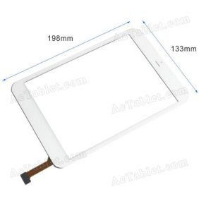 Replacement Touch Screen for Vido M3 Mini 3G MT8389 Quad Core Tablet PC MT70821-V3