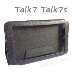 7 Inch Leather Case Cover for Cube Talk7S U51GT_S MT8312 Dual Core Tablet PC