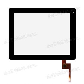 Replacement Touch Screen Panel for Nextway Fast9 F9 RK3066 Dual Core 9.7 Inch Tablet PC