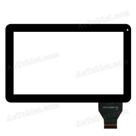 YTG-P10007-F2 Digitizer Glass Touch Screen for 10.1 Inch Android Tablet PC