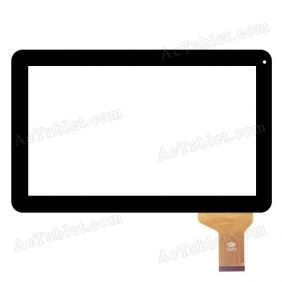 FM101301KA Digitizer Glass Touch Screen for 10.1 Inch Android Tablet PC