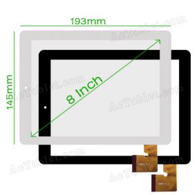 Universal ESR801 V1.0 Digitizer Glass Touch Screen for 8 Inch Android Tablet PC Replacement