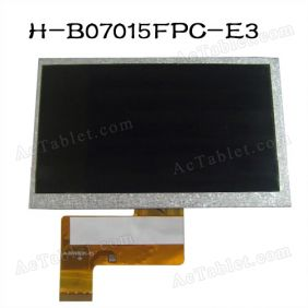 Universal H-B07015FPC-E3 LCD Display Screen for 7 Inch Android Tablet PC