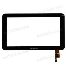 Digitizer Glass Touch Screen Replacement for Visual Land Prestige Pro 7D Dual Core 7 Inch Tablet PC