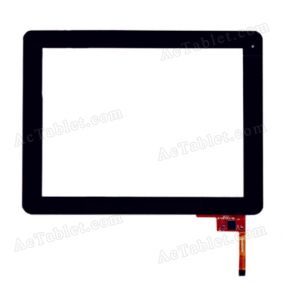 QSD E-C97003-06 Digitizer Glass Touch Screen Panel Replacement for 9.7 Inch Tablet PC