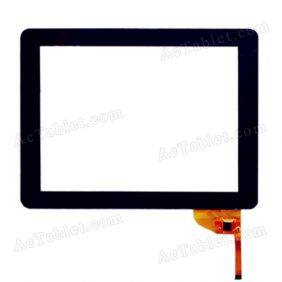 OPD-TPC0034 Digitizer Glass Touch Screen Panel for 9.7 Inch Tablet PC Replacement