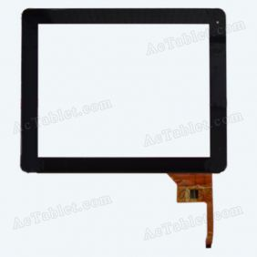 M900101SB Digitizer Glass Touch Screen Panel for 9.7 Inch Tablet PC Replacement