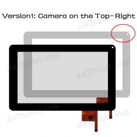 OPD-TPC0027 Digitizer Glass Touch Screen for Allwinner A13 MID Tablet PC 9 Inch Replacement