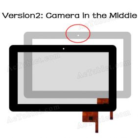 OPD-TPC0027 Glass Touch Screen Replacement Camera in the Middle for 9 Inch MID Android Tablet PC