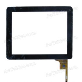 WJ-DR97010 Digitizer Glass Touch Screen Panel for 9.7 Inch Tablet PC Replacement
