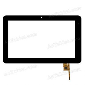 TOPSUN_F0056_A3 Digitizer Glass Touch Screen for 10.1 Inch Android Tablet PC