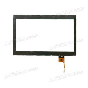 E-C100021-01 Digitizer Glass Touch Screen for 10.1 Inch Android Tablet PC