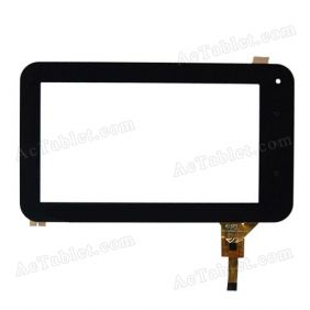 DPT 300-N3988A-A00-V1.0 Glass Touch Screen Panel Replacement for 7 Inch Android Tablet PC