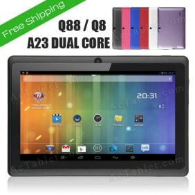 2014 Q88 AllWinner A23 Dual Core MID Tablet 7 Inch Android 4.2 Dual Camera