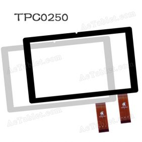 Replacement Glass Touch Screen for KNC MD716 Quad Core 7 Inch Tablet PC TPC0250