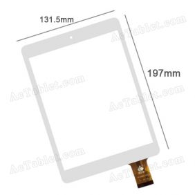 TPC0955 Replacement Touch Screen Digitizer Glass Panel for 7.9 7.85 InchTablet PC