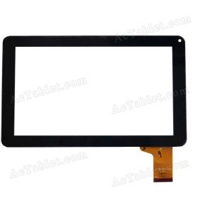 147 Digitizer Glass Touch Screen Panel Replacement for 9 Inch MID Tablet PC