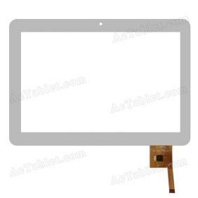 Touch Screen Replacement for Tivax MiTraveler 10Q-8 10Q8 Quad Core 10.1 Inch 10 Tablet PC