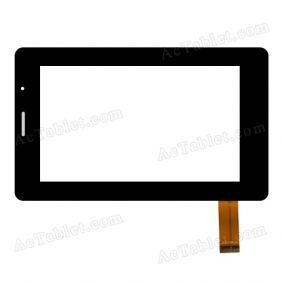 ZCC-1500 V1 Digitizer Touch Screen Panel Replacement for 7 Inch Android Tablet PC