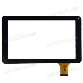 ZP9168-9 VER.00 LLT-P28588A Touch Screen for 9 Inch TMAX TM9S775 Tablet PC Replacement