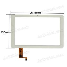 04-1010-0732 V1 Digitizer Touch Screen Panel Replacement for 10.1 Inch Ramos Tablet PC