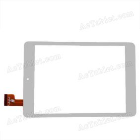 Replacement Touch Screen for Sanei N82 (Ampe A88) Mini Quad Core A31s Tablet PC