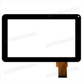FHF-090-020 Digitizer Glass Touch Screen Replacement for 9 Inch MID Tablet PC