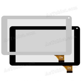 HY FHF TPC-51055 V4.0 Digitizer Glass Touch Screen Replacement for 7 Inch MID Tablet PC