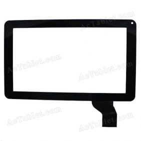 HS1195 JHET Digitizer Glass Touch Screen for 9 Inch AllWinner MID Tablet PC Replacement