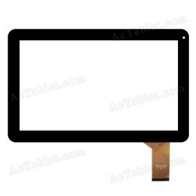 CZY6567A01-FPC Digitizer Glass Touch Screen for 10.1 Inch MID Tablet PC