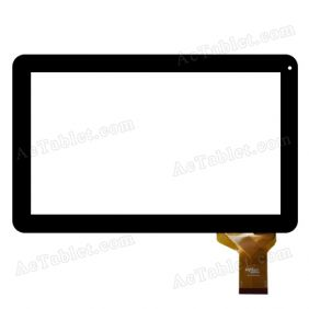 Digitizer Touch Screen for SUNSTECH TAB101DC Allwinner A20 10.1 Inch Tablet PC Replacement