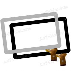 Digitizer Touch Screen for SUNSTECH TAB107QCBT Allwinner A31s 10.1 Inch Tablet PC Replacement