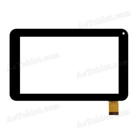 Digitizer Glass Touch Screen Replacement for iView-754TPC 7 Inch Tablet PC