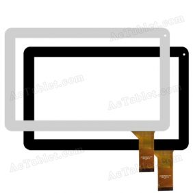 CZY66490A01-FPC Digitizer Touch Screen Replacement for 10.1 Inch Tablet PC