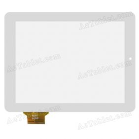 DPT 300-L4386C-A00 M977QG9 Digitizer Touch Screen for 9.7 Inch Tablet PC Replacement