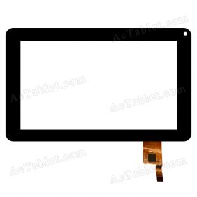 DR1574-B-01 XL 1240 Digitizer Touch Screen Replacement for 9 Inch MID Tablet PC