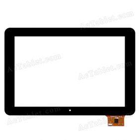 YTG-P10005-F1 P26004A-LLT V1.0 Digitizer Touch Screen Replacement for 10.1 Inch Android Tablet PC