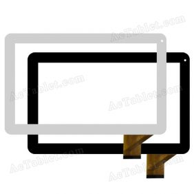 YDT1231-A0 Digitizer Glass Touch Screen Replacement for 10.1 Inch MID Tablet PC