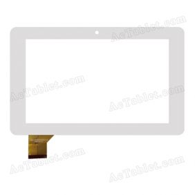 FPC-TP070157(SC3077)-00 Digitizer Touch Screen Replacement for 7 Inch Tablet PC
