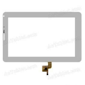 FPC-TP070247(V1801)-01 Digitizer Touch Screen Replacement for 7 Inch Tablet PC