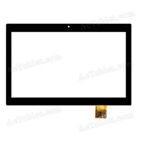 QSD E-C100028-01-A Digitizer Touch Screen Replacement for 10.1 Inch Tablet PC