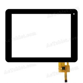FPC-TP080015-00 Digitizer Glass Touch Screen for 8 Inch Tablet PC Replacement