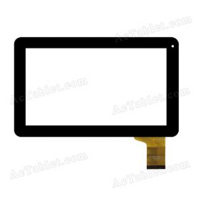 FPC-TP090005(98VB)-00 Digitizer Touch Screen Replacement for 9 Inch MID Tablet PC