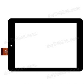 TPC-51093 V3.0 Digitizer Glass Touch Screen for 7.85 Inch Tablet PC Replacement