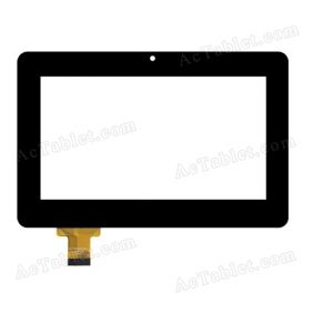 FPC-TP070200(C185)-00 Digitizer Touch Screen Replacement for 7 Inch MID Tablet PC