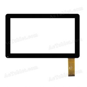 FPC-TP070007(V7TP)-00 Digitizer Touch Screen Replacement for 7 Inch MID Tablet PC