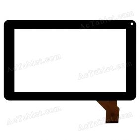 LKW0093 FPC Digitizer Glass Touch Screen Panel for 9 Inch A13 MID Tablet PC